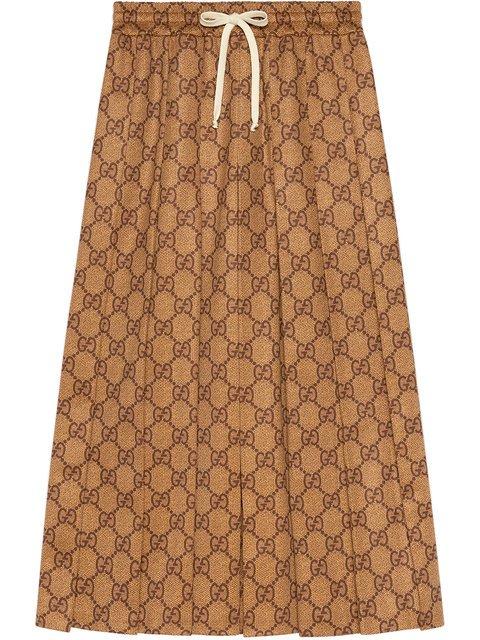 Gucci GG Technical Jersey Skirt - Farfetch