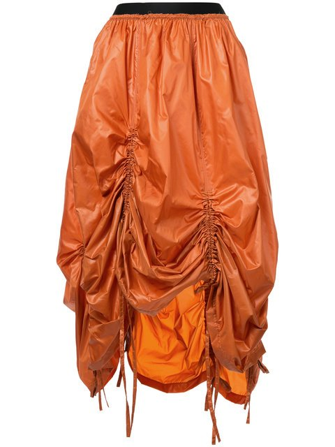 Taylor Ruched Mid-length Skirt - Farfetch