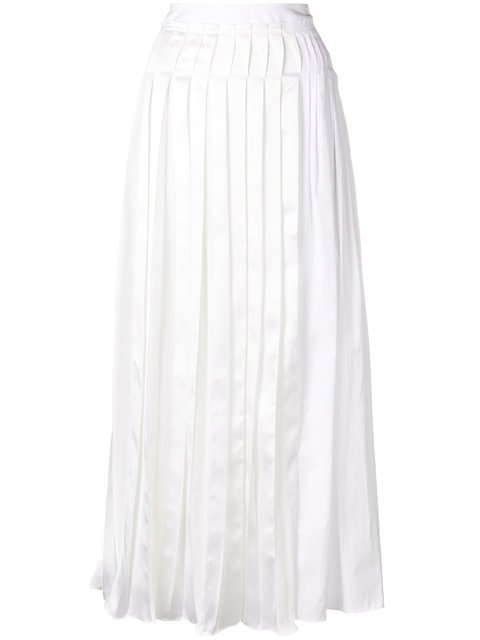 3.1 Phillip Lim Long Pleated Skirt - Farfetch
