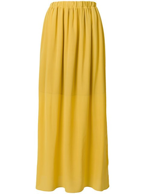 Semicouture Gathered High Waisted Skirt - Farfetch