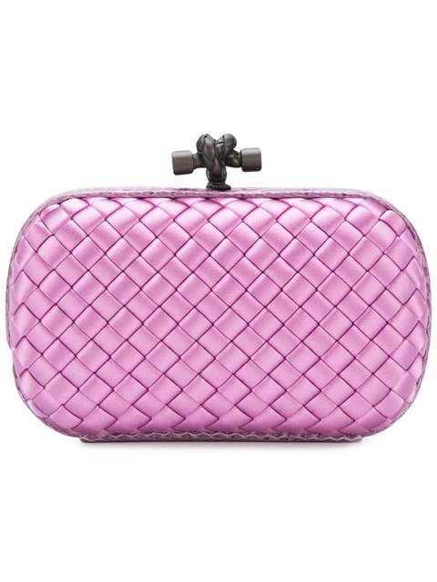 Bottega Veneta Twilight Intrecciato Impero Knot  - Farfetch