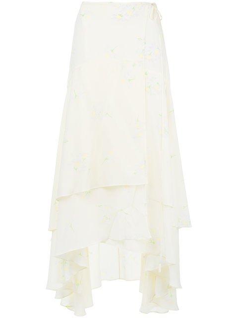 Ganni Nolana Wrap Skirt - Farfetch