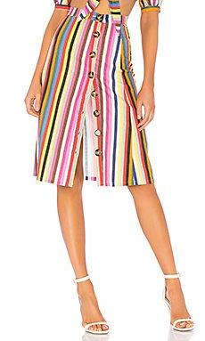 Button Up Midi Skirt                                             LPA
