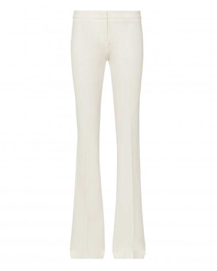 Alana White Flare Pants