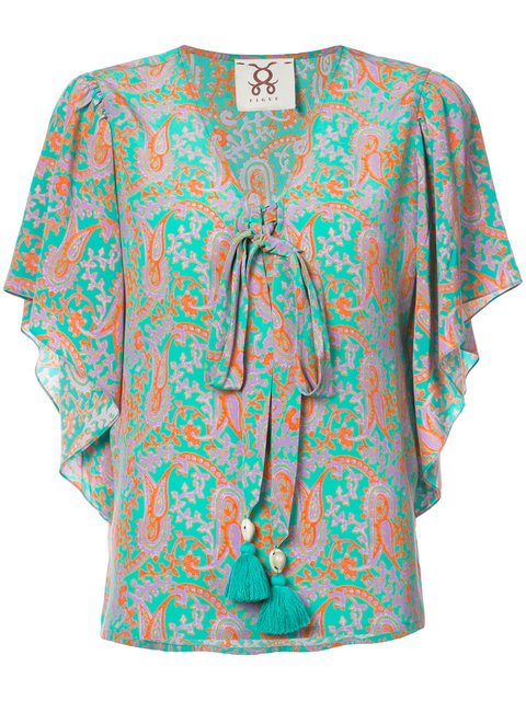 Figue Lena Paisley-print Blouse - Farfetch