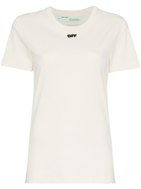 Off-White Arrow Back Logo T-shirt - Farfetch