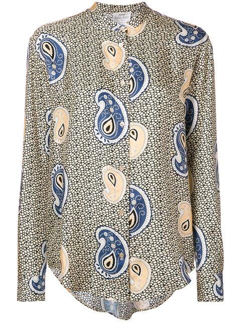 Forte Forte Band-collar Paisley Shirt - Farfetch