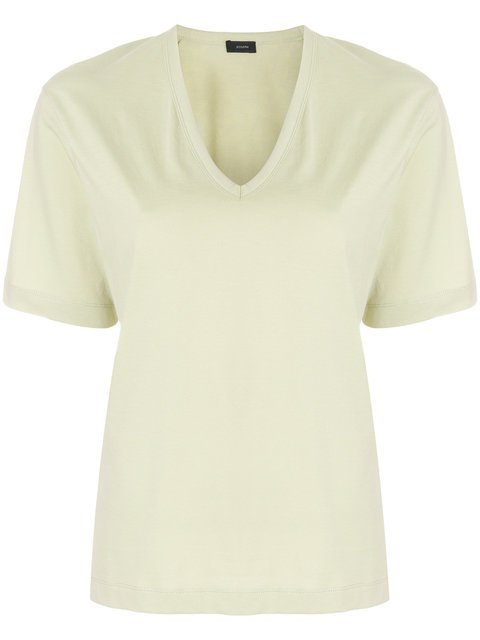 Joseph Relaxed V-neck T-shirt - Farfetch
