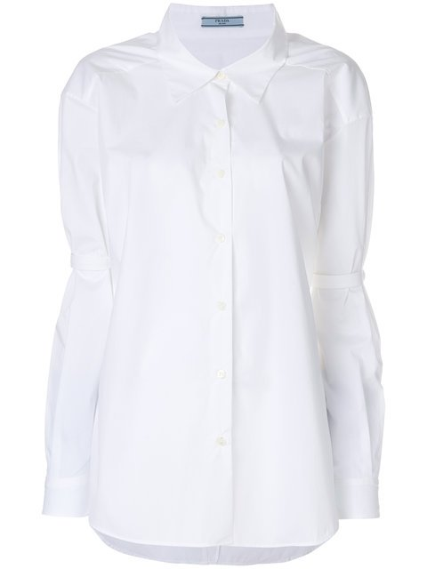 Prada Elbow Tab Shirt - Farfetch