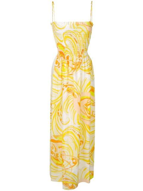 Emilio Pucci Printed Maxi Dress - Farfetch