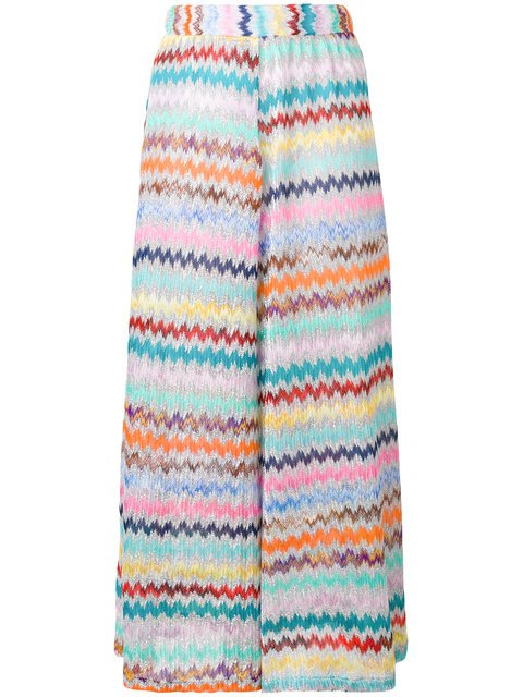 Missoni Mare Cropped Wide Leg Trousers - Farfetch