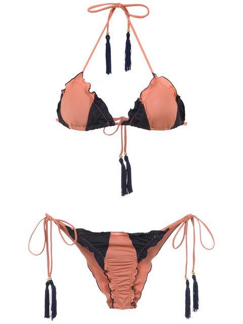 Brigitte Triangle Top Bikini Set - Farfetch