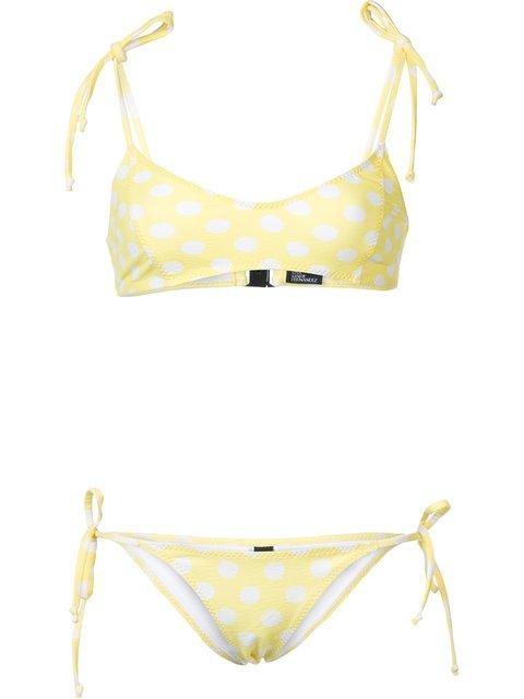 Lisa Marie Fernandez Polka Dot Bikini - Farfetch