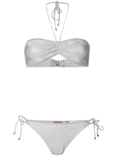 Missoni Mare Embroidered Bikini Set  - Farfetch