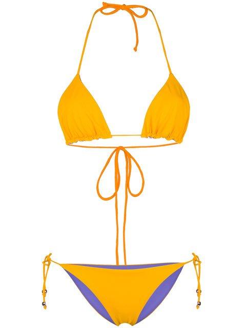 Tara Matthews Capo Reversible Bikini Set  - Farfetch