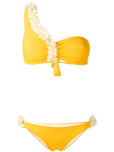 La Reveche One Shoulder Bikini  - Farfetch