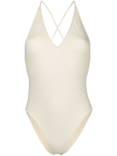 Marysia Crossover Strap Swimsuit - Farfetch