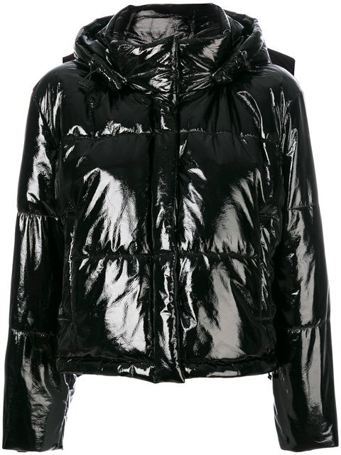 MSGM Hooded Puffer Jacket - Farfetch