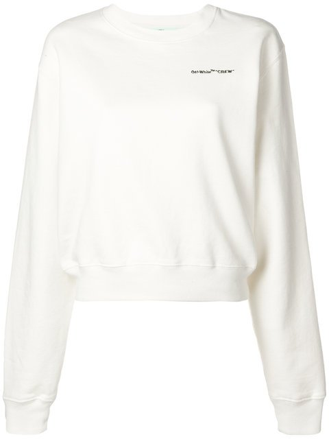 Off-White Printed Sweatshirt - Farfetch