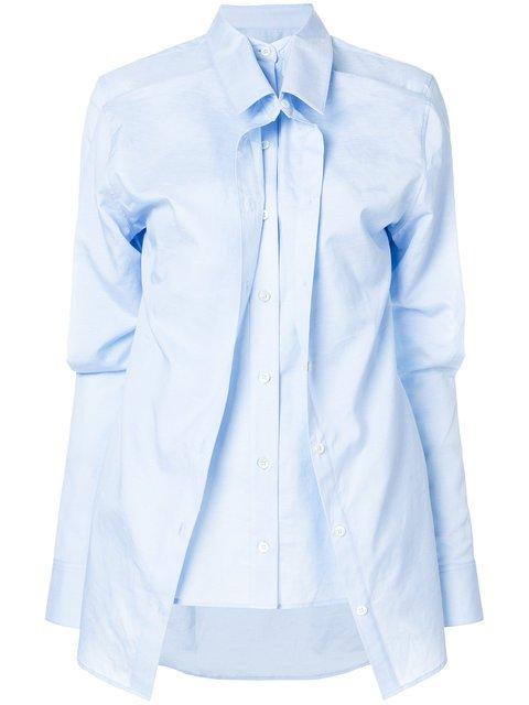Y / Project Asymmetric Layered Shirt - Farfetch