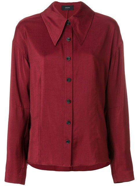 Joseph Pointed Collar Shirt - Farfetch