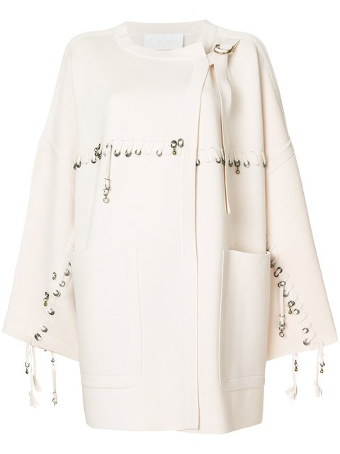 Chloé Embellished Wool Cardigan - Farfetch