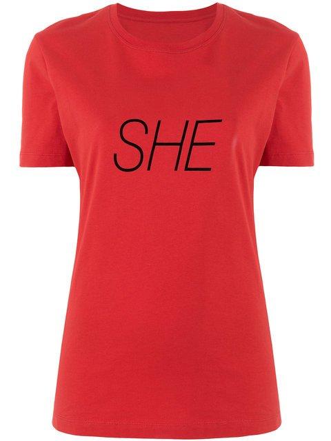 Paco Rabanne She Slogan T-shirt - Farfetch