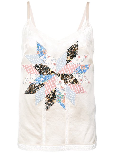Coach Quilted Patchwork Camisole - Farfetch