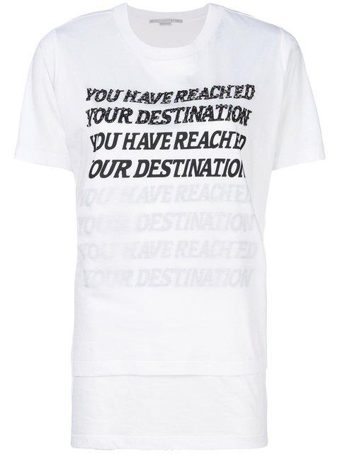 Stella McCartney You Have Reached Your Destination T-shirt - Farfetch