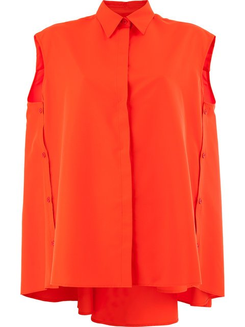 Juun.J Oversized Sleeveless Shirt  - Farfetch