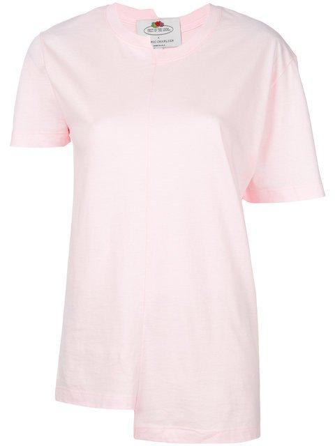 Cédric Charlier Asymmetric T-shirt  - Farfetch