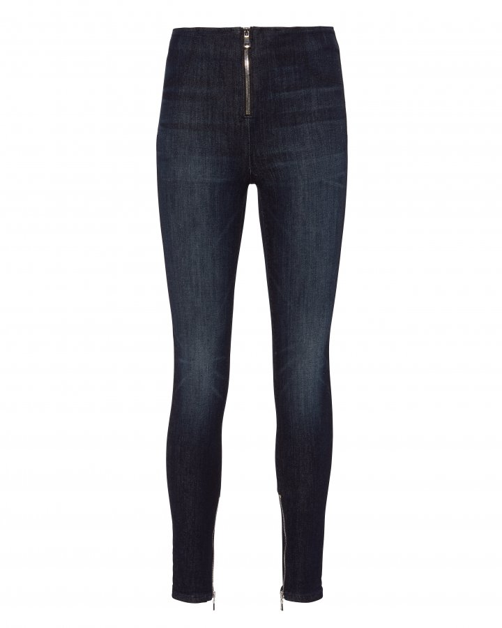 Madison Zip Front Superior Blue Jeans