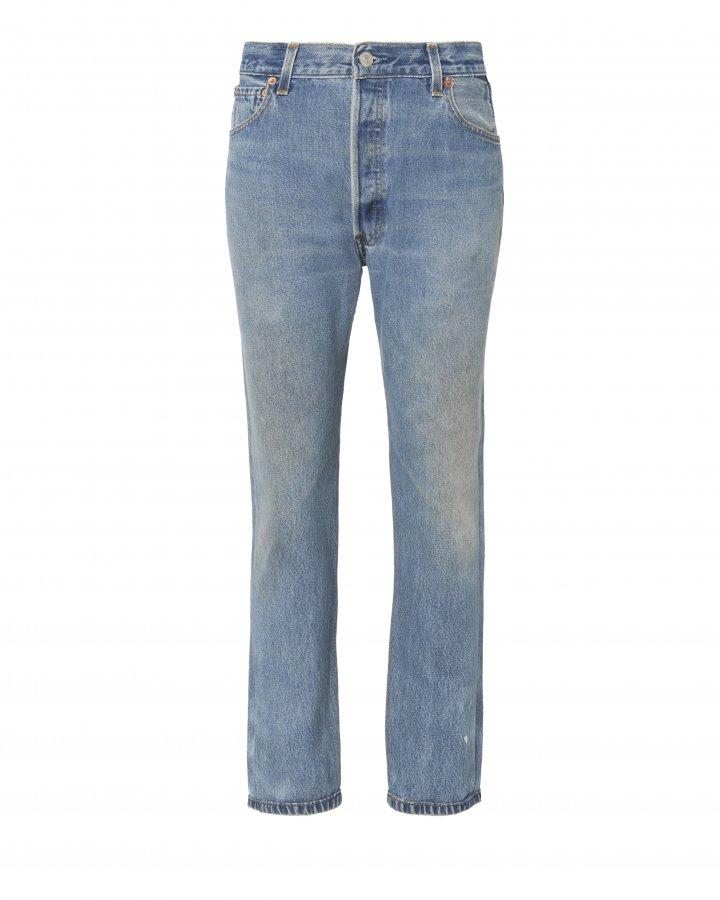 High-Rise Crop Jeans