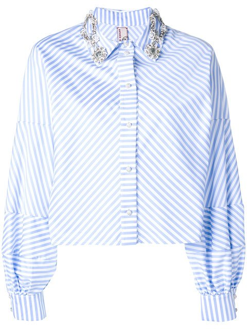 Antonio Marras Striped Long-sleeve Top - Farfetch
