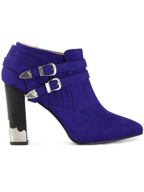 Toga Pointed Toe Ankle Boot - Farfetch