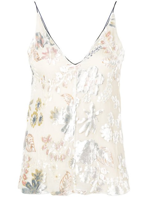 Forte Forte Embroidered Sleeveless Top - Farfetch