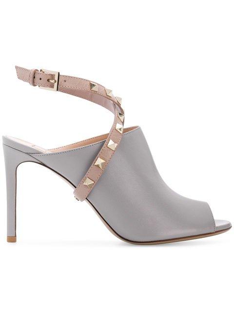 Valentino Rockstud Open-toe Sandals - Farfetch