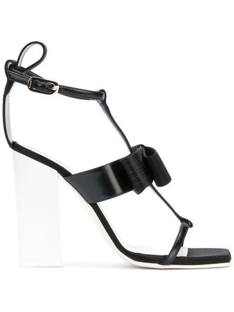 Lanvin Bow Strappy Sandals - Farfetch