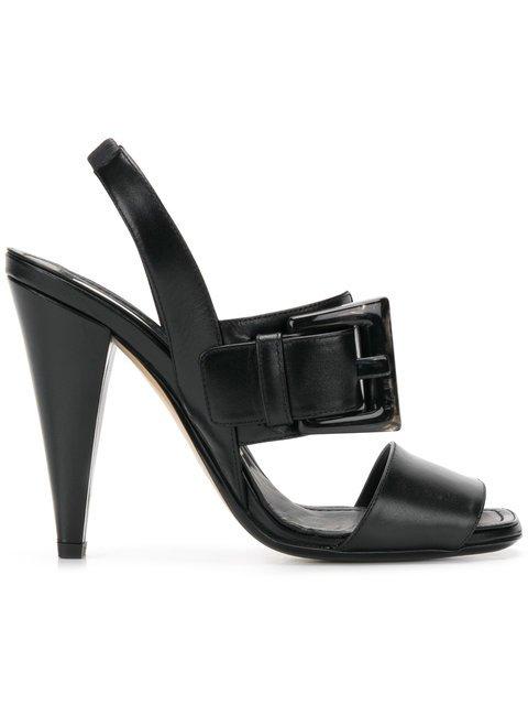 Nº21 Statement Buckle High-heel Sandals - Farfetch