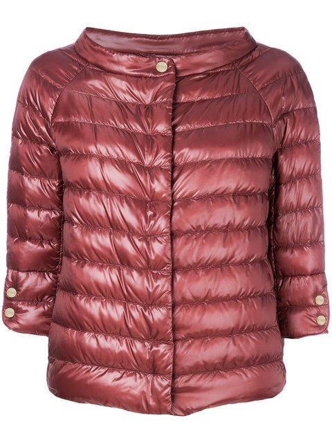 Herno Cropped Padded Jacket - Farfetch