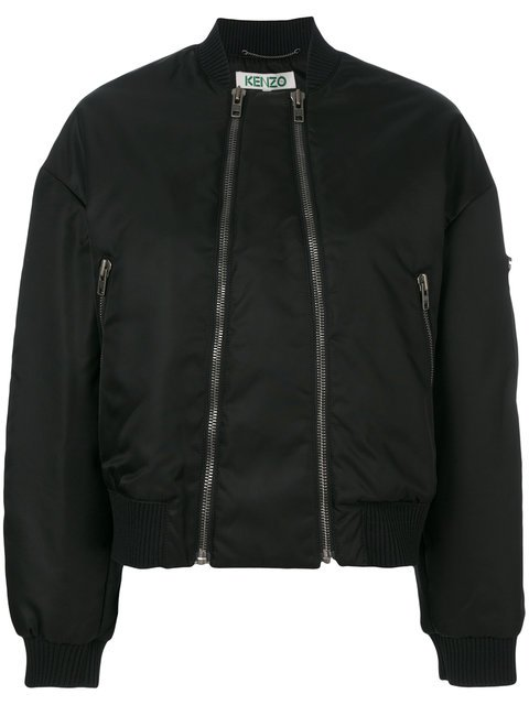 Kenzo Double Zip Bomber Jacket - Farfetch