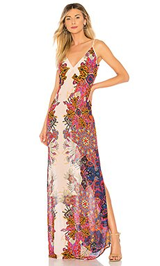 Wildflower Printed Slip Dress                                             Free People