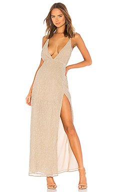 Hailee High Slit Maxi Dress                                             by the way.