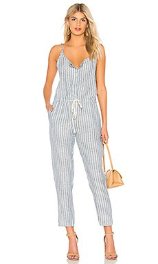 Linen Strappy Jumpsuit                                             Enza Costa