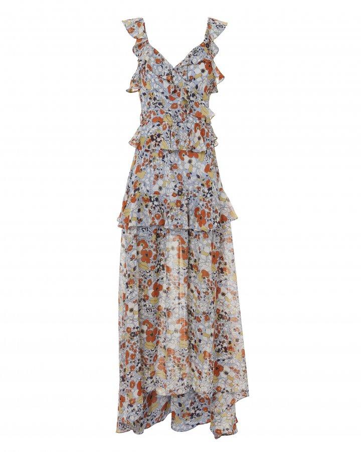 Jewell Floral Maxi Dress