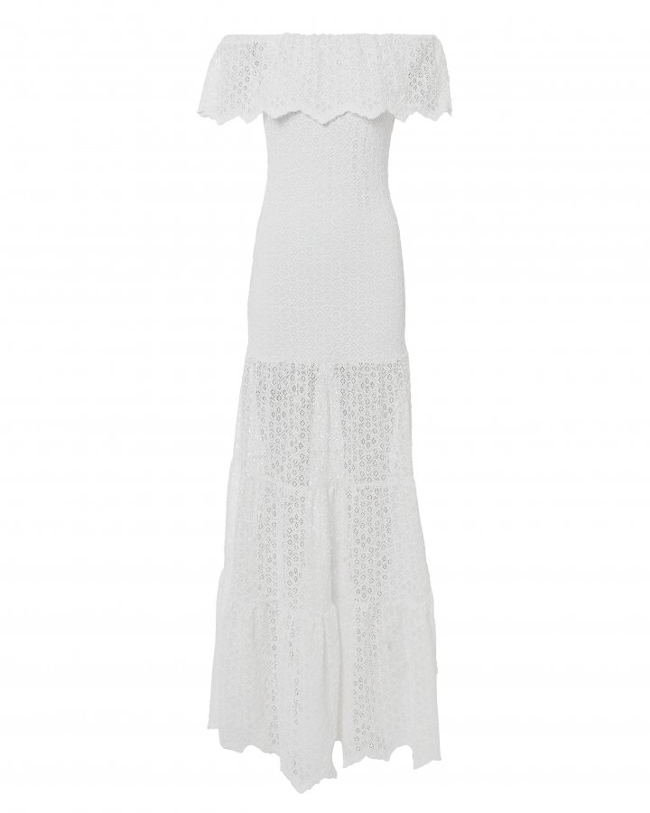 Diamond Lace Positano Maxi Dress