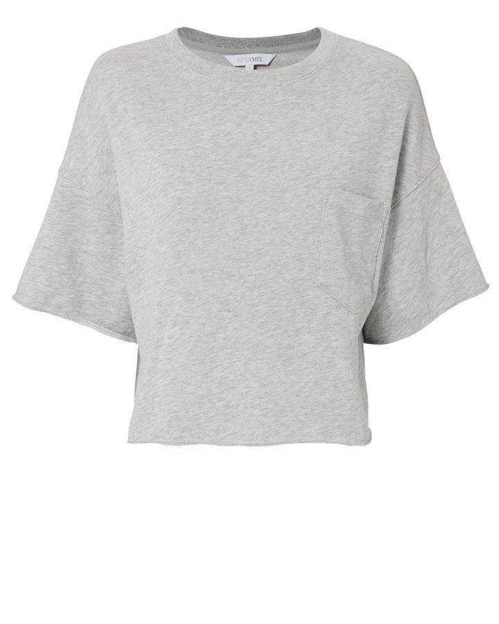 Crop Terry Sweatshirt