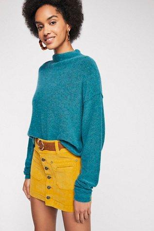 Joanie Solid Cord Skirt