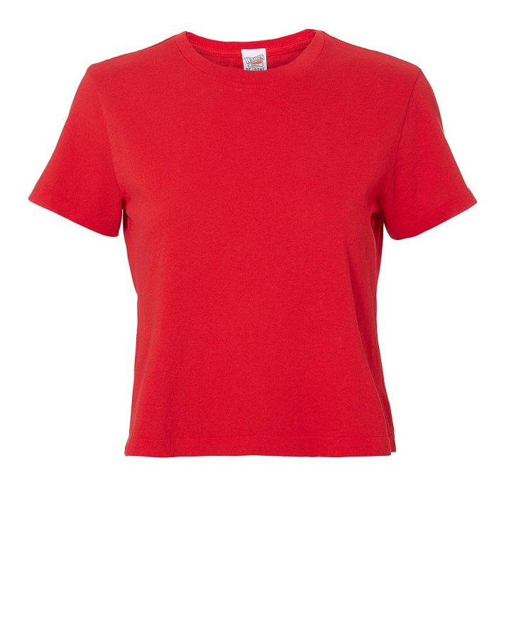 1950s Boxy Red T-Shirt