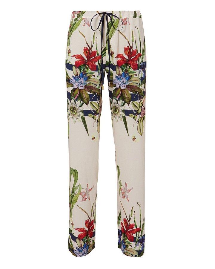 Tania Floral-Printed Pajama Pants